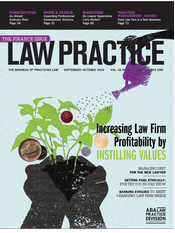 Law Practice Magazine SeptOct 2016