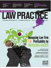 Law Practice Magazine SeptOct 2016