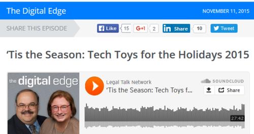 Tech toys 2015