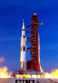 Rocket launch NASA