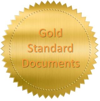 Gold standard document