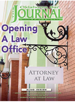 Opening Law Office 2015 OBJ
