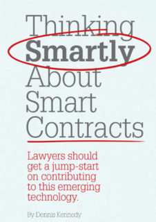 Thinking smartly about smart contracts