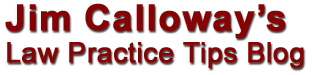 Jim Calloway's Law Pracice Tips Blog