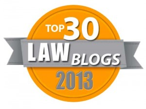 Top 30 Law Blogs of 2013